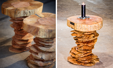 Naturally Imperfect Gorgeous Sculptural Furniture Pieces