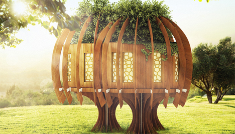 chestnut tree house childrens hospice quiet treehouse