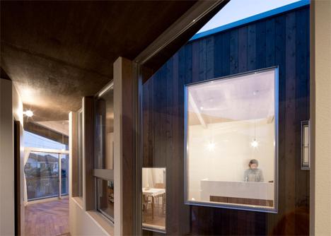delta house open internal courtyard