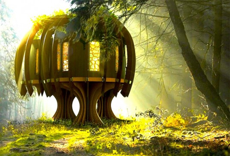 ethereal freestanding quiet treehouse