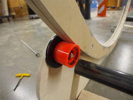 hamster desk wheel
