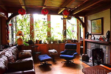 interior fairytale house