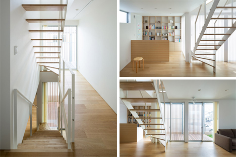 light airy staircase