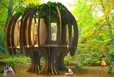 peaceful quiet treehouse chestnut tree house childrens hospice