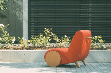 rapide rolling chair
