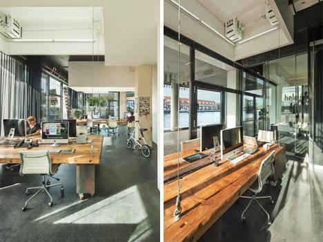 transforming studio office