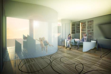 3 moving transforming apartment interior