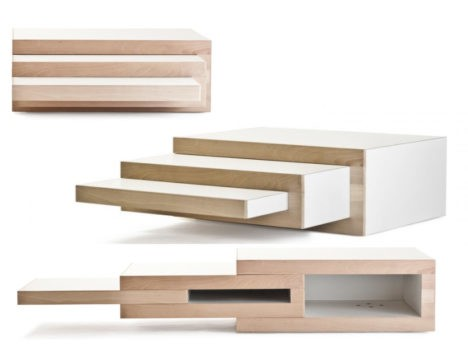 Expandable coffee table 3