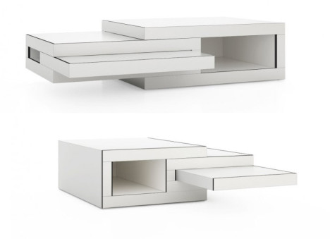 Expandable Coffee Table Inspiration Expandable Transforming Coffee Table Grows In Any Direction Design Decoration
