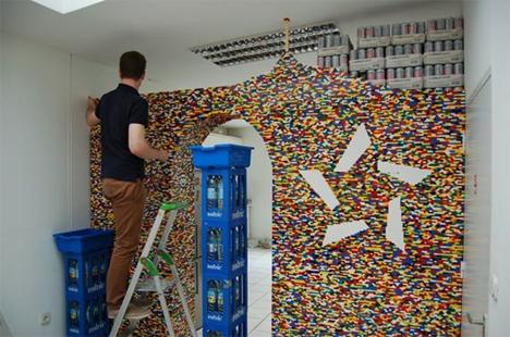 lego wall construction