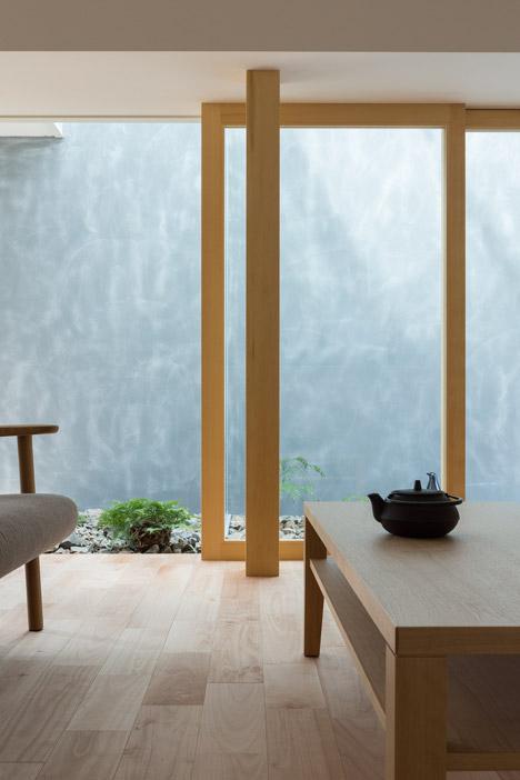 sliding glass doors enclosed walkway
