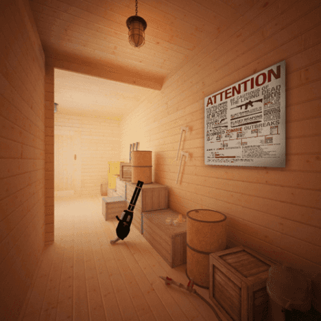 zombie cabin 6