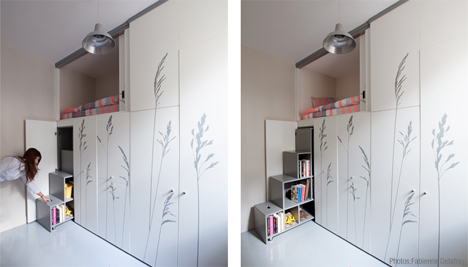 Tiny 8 Sq Meter Apartment Is Full Of Space Saving Secrets
