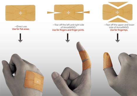 amoeband customizable bandage