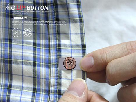 clip button