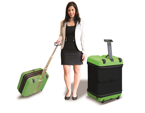 fugu expanding luggage