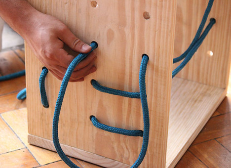 Customizable rope shelf 1