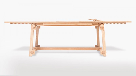 craft 2 wooden table