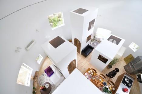 modern round house 3