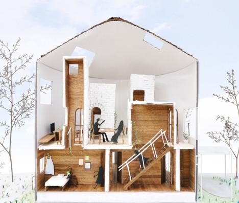 modern round house 8