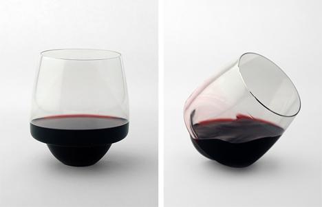 spill proof wine glasses