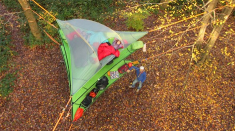 stackable tentsile vista suspended treehouse tents