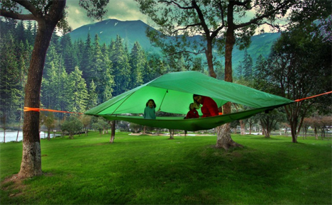 tentsile vista portable treehouse