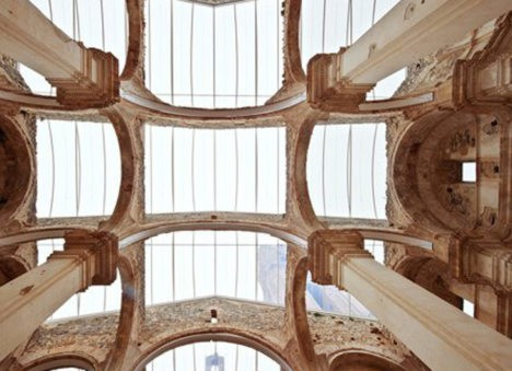 3 spanish church transparent roof