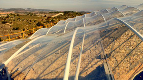 5 transparent skylight spanish church