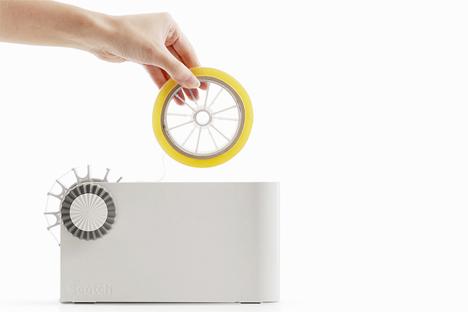 desktop scotch tape dispenser