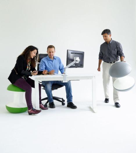 portable balance ball stool