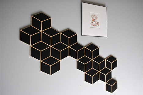 Wooden Wall Tiles Make Stunning Personalized Wall Art