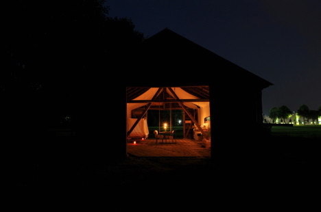 glowing renovated barn home