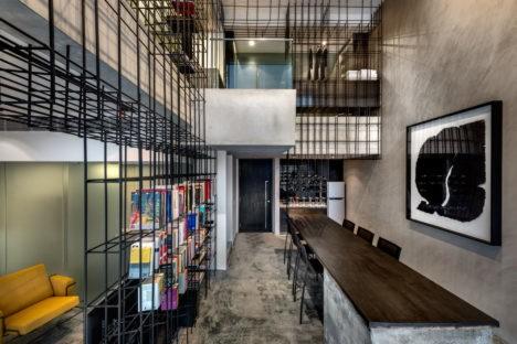 singapore cage apartment