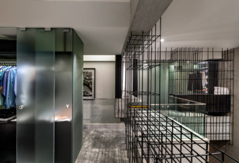 steel cage wardrobe