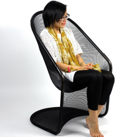 Superieur Stretchy Chair Is A Work Of Art + A Comfy Resting Spot