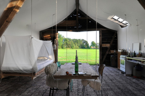 Decaying Wooden Barn Made Over Into Dreamy Living Space