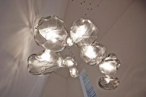 blown glass lighting. Bocci Cloud Lamp 3. Blowing Glass Blown Lighting L