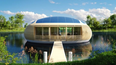 floating waternest home `