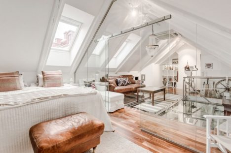 The Ground Floor Of The 1,260 Square Foot Loft On Scenic Norrbackagatan  Street Houses The Kitchen, Dining Room, Bathroom, Home Office And Second  Bedroom, ...