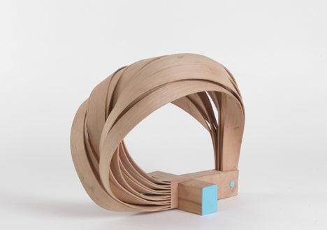 bent wood stool