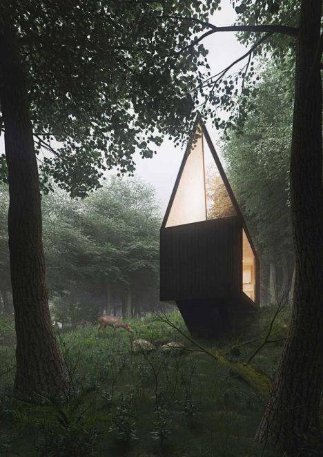 diamond forest cabin 2