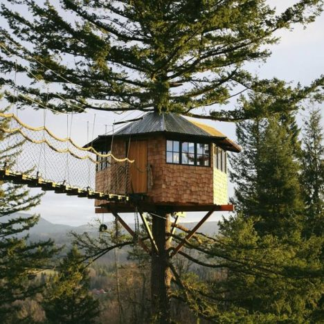 double treehouse cinder cone