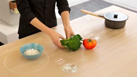interactive kitchen table