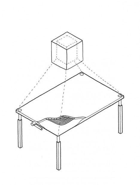 interactive tabletop design