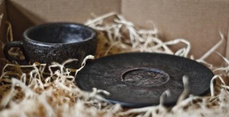 kaffeeform cup and saucer