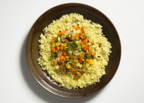 vegetables and couscous genie pod meal