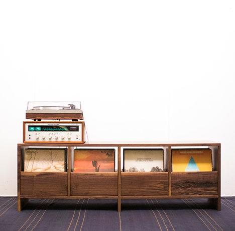 Killscrow Vinyl Cabinet