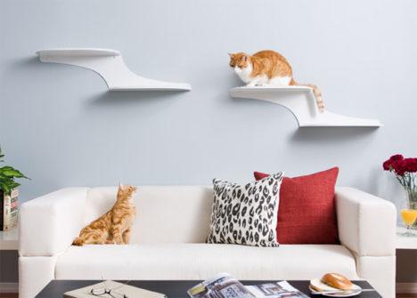 Clouds Cat Shelf