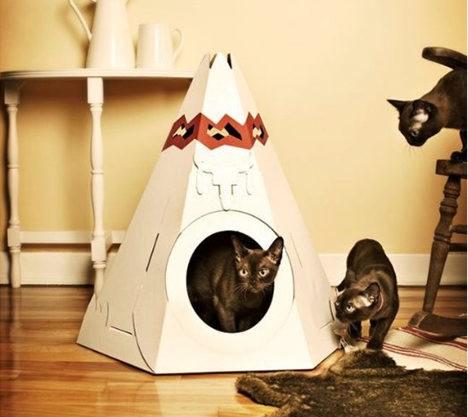 Suck UK Cat Play House Tepee